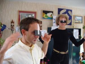 Leer je blikveld verruimen in de ogencursus van Eye-Tools met de zwarte papier techniek.