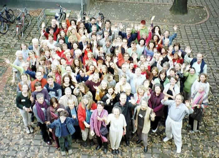 Groeps foto van Intl Holistic Vision congress 2000 in Berlin