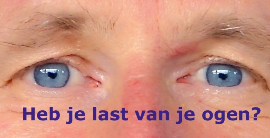 Heb je last van je ogen? Beter zien kun je leren in de ogenschool Eye-Tools.