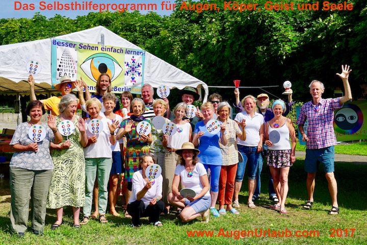 Ogencursus en vakantie nabij Berlijn deze zomer. Zie ook de agenda van de ogenschool Eye-Tools.